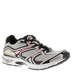 Avia Mens AviEndeavor Chrome SilverBlackVarsity RedBlazing Yellow Sneaker 95 D M -- You can find more details by visiting the image link.