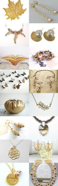Golden Gifts by Allison and Sheryl on Etsy--Pinned with TreasuryPin.com