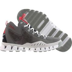 be569372234 Reebok Men Wall Season 3 - Zigescape (shark   stealth   grey   navy   white    red) Shoes V45371
