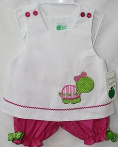 291407 Baby Girl Clothes Kid Clothes Bloomer Set by ZuliKids, $36.50