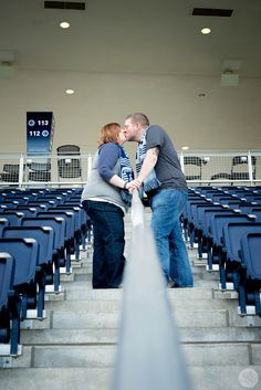 Allie Coyle Photography Blog- Kansas City Urban Photographer: An Engagement Session with Kris & Sarah at Sporting Park & The River Market!