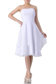 online shopping for Adorona Natrual Chiffon A-line Strapless Tea Length Evening Modest Bridesmaid Dress Short from top store. See new offer for Adorona Natrual Chiffon A-line Strapless Tea Length Evening Modest Bridesmaid Dress Short Casual Bridesmaid Dresses, Bridal Dresses, Prom Dresses, Bridesmaid Ideas, Dresses 2013, Graduation Dresses, Chiffon Evening Dresses, Womens Cocktail Dresses, Gowns Online