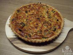 Deze heerlijke quiche maak je met prei en shoarma, supermakkelijk en echt lekker!