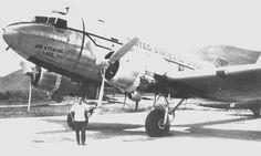 US DAO C-47 Vientiane Laos 1966 http://usafflightcheck.com  https://www.facebook.com/USAF.Flight.Check