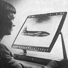 The Future That Never Was - Next-Gen Tech Concepts - Popular Mechanics  1954 Flat Screen TV ..thin enough to hang on your wall ... It did happen