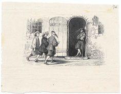 """Immagini manzoniane: bozze delle illustrazioni  per l'edizione de """"I Promessi sposi"""" del 1840 / n. 074"""