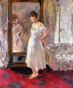 La psyché, Berthe Morisot. Museo Thyssen Bornemisza.