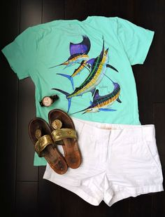 Casual OOTN- I love Guy Harvey T-shirts?