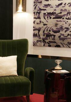 SUDD RUG | Modern Rugs | Floor Design | Interior Design | iSaloni | #modernrugs | #moderninteriores | #interiordesign | Find more at: https://www.brabbu.com/category/rugs