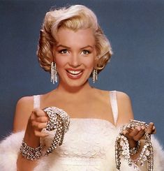 Happy Birthday Marilyn Monroe!  Diamonds are the girl's best friend