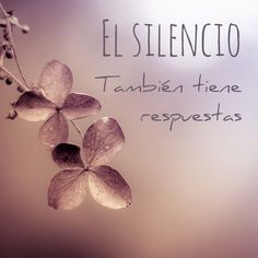 EL SILENCIO... Acá más pensamientos inspiradores... http://pensamientos.cc/