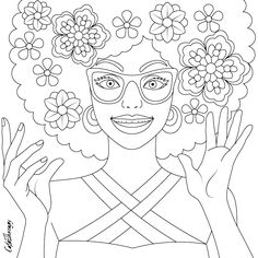 The sneak peek for the next Gift of The Day tomorrow. Do you like this one? #expressive #afro #lady ••••••••••• Don't forget to check it out tomorrow and show us your creative ideas, color with Color Therapy: http://www.apple.co/1Mgt7E5 ••••••••••• #happycoloring #giftoftheday #gotd #colortherapyapp #coloring #adultcoloringbook #adultcolouringbook #colorfy #colorfyapp #recolor #recolorapp #coloring #coloringmasterpiece #coloringbook #coloringforadults