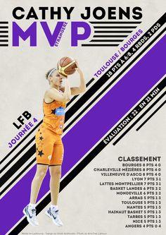 Cathy Joens - MVP Etrangère - LFB Journée #4