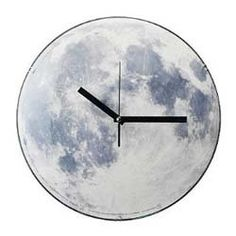 Amazon.com - Kikkerland Claire de Lune Moonlight Clock