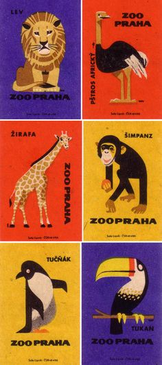 praguezoo_matchboxlabels_03 - Oliver Tomas collection