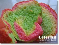 MamaFaMi's Spice n Splendour: Colorful Sandwich Loaf