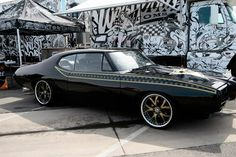 GTO West Coast Customs style, done for Tanner Foust / Rockstar. Definitely one of my favorites from the Street Customs show