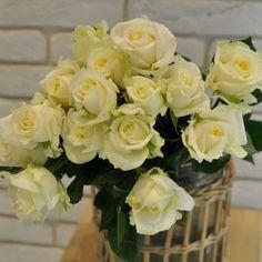 Trandafiri Albi cu livrare în Moldova