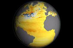 Door de opwarming van de aarde stijgt de zeespiegel. Het is een bekend probleem, maar een recentelijk verschenen animatie van de Amerikaanse ruimtevaartorganisatie NASA laat zien waar de stijging het grootst is.