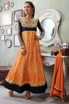 Bollywood Diva Gauhar Khan Stylish Salwar Kameez
