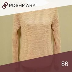 Forever 21 Sweater Size medium.  Will bundle Forever 21 Sweaters Crew & Scoop Necks