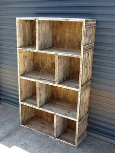 Custom Made Bookshelf For The Cave Bys Beach Www Recycledbyluke Au
