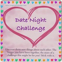 2 week dating challenge