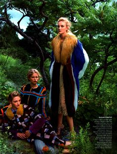 """Playing it Cool' by Annie Leibovitz for Vogue US September 2014"