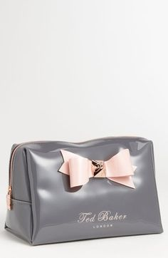 f23d99d42cc0 Ted Baker London  Large Bow  Cosmetics Bag