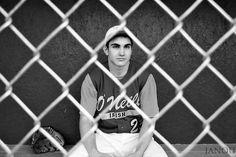 baseball senior picture