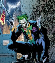 jim lee had the best joker by far. one of my fav. artists