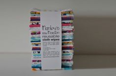40 Reusable CLOTH WIPES variety pack. by marleysmonsters on Etsy, $26.95