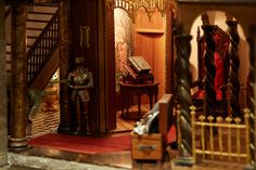 All the TrappingsSuits of armor abound, which is a neat feature and the secret to the castle's overall worth. The dollhouse's lofty appraisal is based on its valuation as a work of art and on the price tags associated with the thousands of tiny objects collected therein. A silver flatware set, for instance, is said to be worth $5,000.