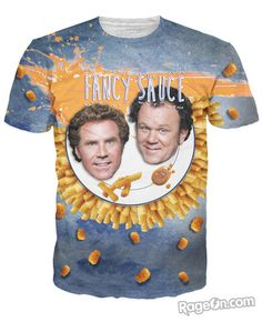Fancy Sauce T-Shirt - RageOn! - The World's Largest All-Over-Print Online Store