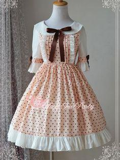 Lolita Kleid mit Printmuster - Lolitashow.com
