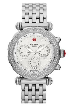Michele Caber Sport Diamond Watch