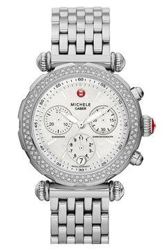 Michele Caber Sport Diamond Watch