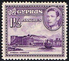 Cyprus 1938 SG 155a Kyrenia Harbour Fine Mint