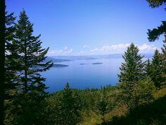 Overlooking Flathead Lake