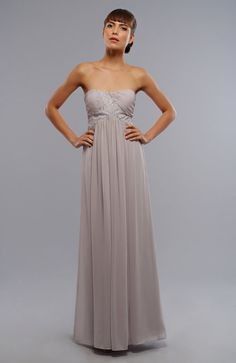 A-line Strapless Chiffon Ankle-length . Find  it here ... http://www.honeydress.com/b/A-line-Strapless-Chiffon-Ankle-length-Wedding-Guest-Dresses-05588.html .