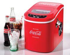 Máquina para Cubos de Gelo Série Coca-Cola Nostalgia Electrics