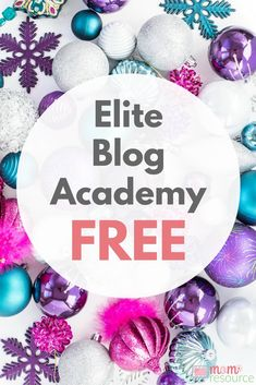 Elite Blog Academy is a must if you want to turn your blog into a business. You can blog without Elite Blog Academy, but it won't be nearly as easy or fun. Elite Blog Academy is for bloggers who are serious about making money online and turning the blog into a business. And now you can even get Elite Blog Academy for FREE here.  http://www.momresource.com/elite-blog-academy-free  via @momresource
