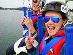Amazing experience!!! Great value for money!!! - Review of Flying Kiwi Parasail, Paihia, New Zealand - TripAdvisor