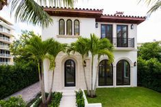 Sophisticated New Built Mediterranean Style Home - Palm Beach, Florida