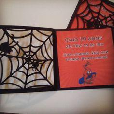 Cartão do Homem Aranha