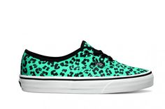 """Vans Classics """"Animal Print"""" Pack Fall/Winter 2013. Love the color and print. So cute."""