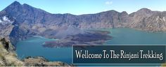 Mount Rinjani is located in the Lombok Island