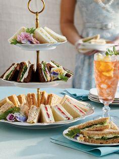 Crowd-Pleasing Tea Sandwich Recipes