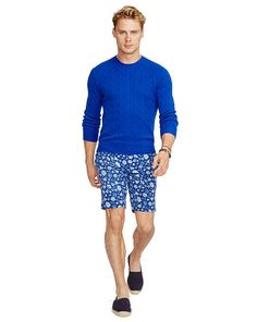 Classic-Fit Floral-Print Short - Polo Ralph Lauren Shorts - RalphLauren.com