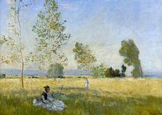 Claude (Oscar) Monet  - Le Été-1874